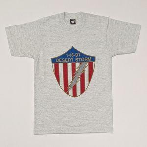 1991 Desert Storm Single Stitch Med T-shirt